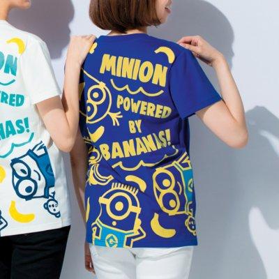 画像1: ミニオンカラフルTシャツ マリンブルー M・L 2808円(税込) 特L 3024円(税込)