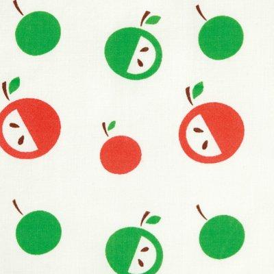画像3: りんごプリントスモック オレンジ