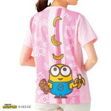 保育士Tシャツ ミニオン カラフルTシャツ