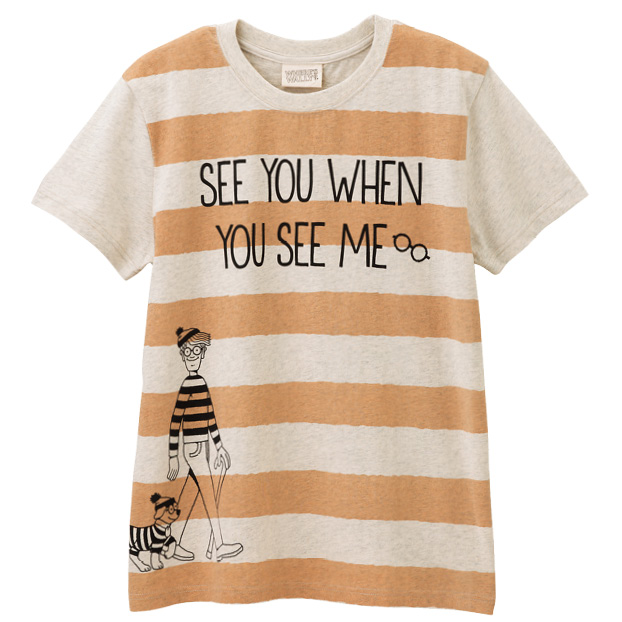 画像1: ウォーリーをさがせ! ボーダーTシャツ まとめ買いできます (1)
