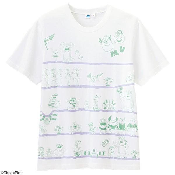画像1: <モンスターズ・ユニバーシティ> オールスターTシャツ (1)