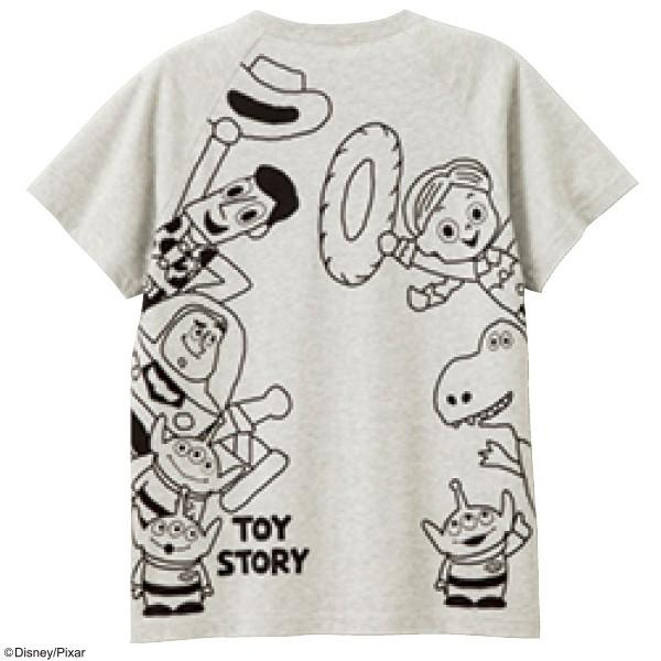 画像1: <トイ・ストーリー>ポケットTシャツ L・特Lのみ (1)