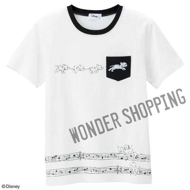 画像1: <ディズニーキャラクター>クラシックTシャツ 101匹わんちゃん (1)