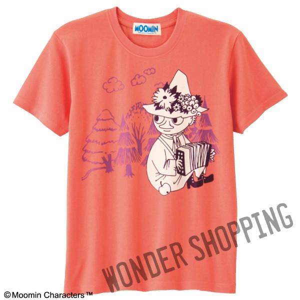 画像1: ムーミンビッグプリントTシャツ スナフキン (1)