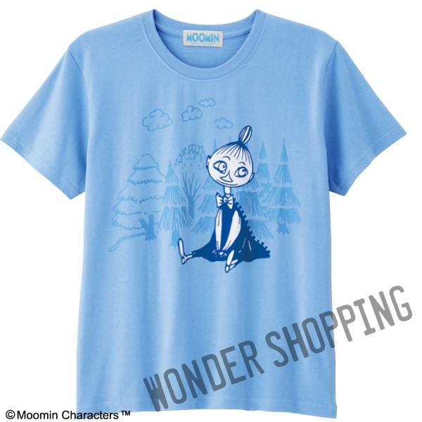 画像1: ムーミンビッグプリントTシャツ ミムラ姉さん (1)
