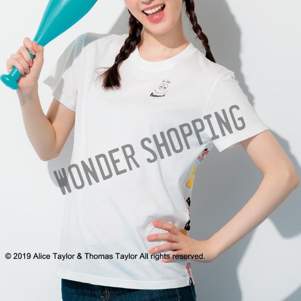 画像1: バーバパパジョイナスTシャツ 白 M (1)