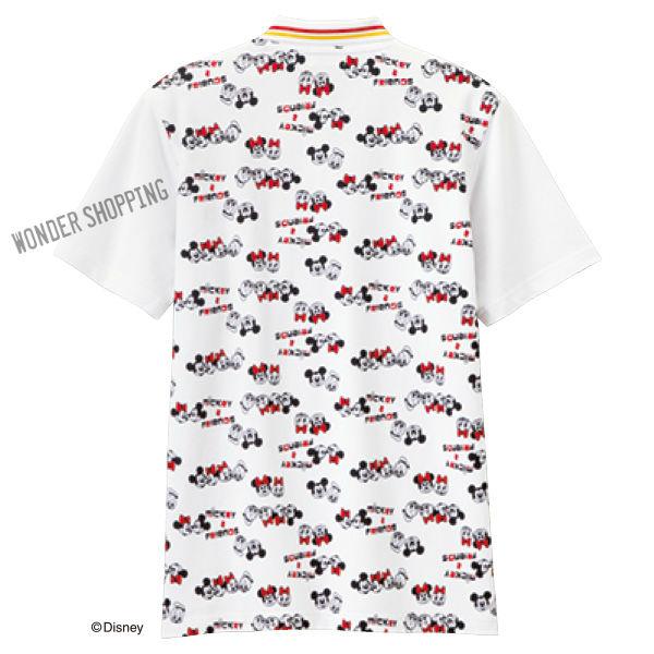 画像1: <ディズニーキャラクター>プリントポロシャツ ミッキー&フレンズ (1)