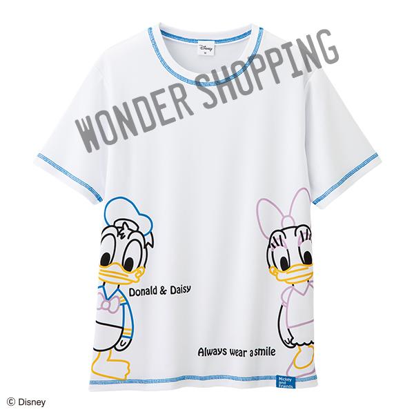 保育士Tシャツ ドナルド&デイジーメッシュTシャツ